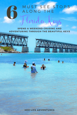 The perfect weekend getaway to the Florida Keys. | HerLifeAdventures.Blog | #floridakeys #floridatravel #traveltips #usdestinations #travelhacks #travelguide #adventuretravel #roadtrip #travelpacking