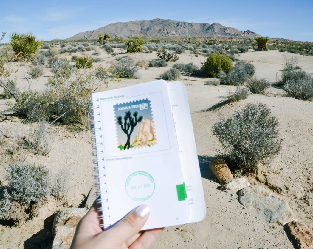 Get your passport stamped at all the National Parks across the US!