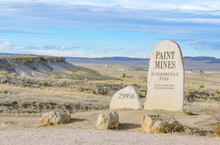 Paint Mines Interpretive Park in Colorado