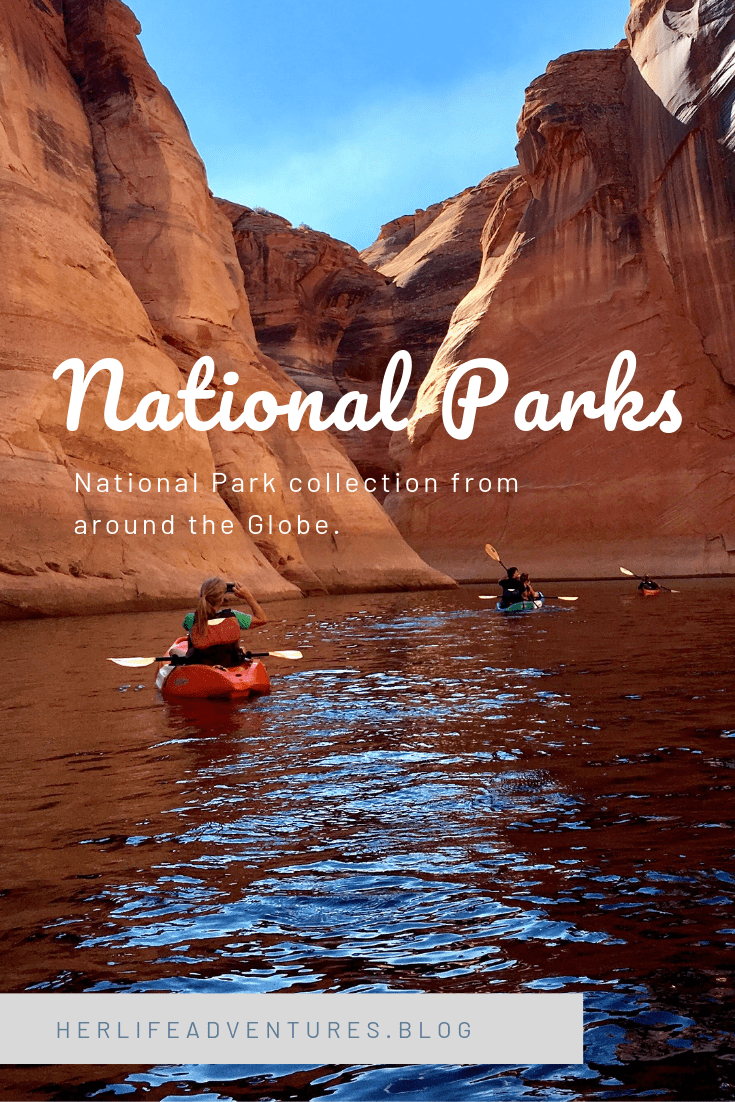 North America has 104 National Parks in protected areas. The United States & Canada are filled with  mountain ranges, glacier lakes, animals and more.