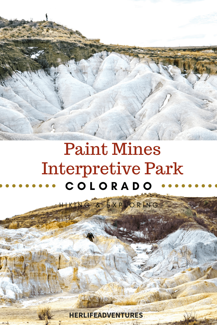 Colorado's best open space park is a hidden gem, most people have never heard of.  Rainbow colored formations just outside of Colorado Springs. #rainbow #paintmines #coloradoparks #hiddengem #paintminespark