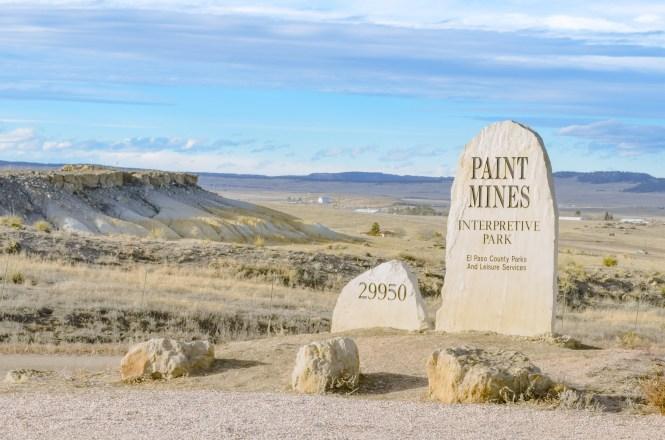 Paint Mines Interpretive Park is Colorado's BEST KEPT SECRET. Rainbow colored formations just outside of Colorado Springs. #rainbow #paintmines #coloradoparks #hiddengem #paintminespark