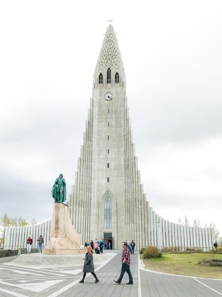 Hallgrímskirkja Iceland church in Reykjavik