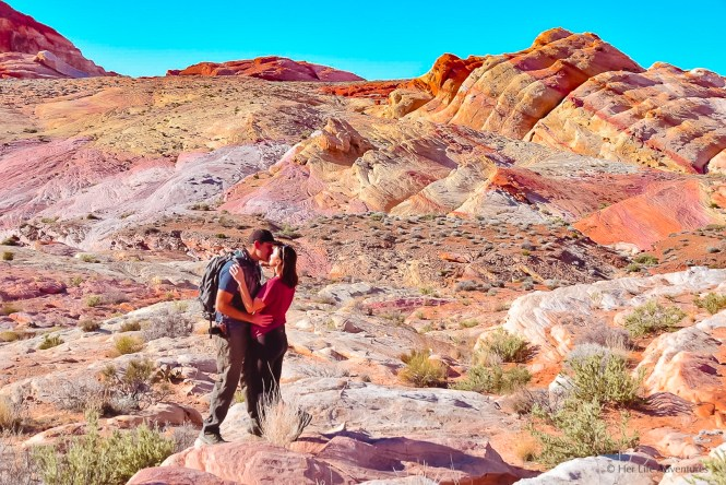 Pastel Canyon Hike in Valley of Fire
