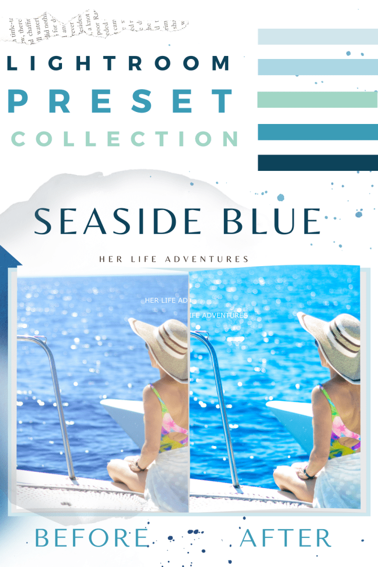 #Seaside #Blue #lightroom #preset #collection is perfect for a quick #photoedit that saves you time while still #editing beautiful #photos
