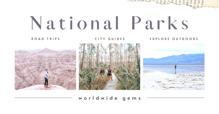 Explore these 20 amazing national parks and experience the unique eco systems, animals, and flora.