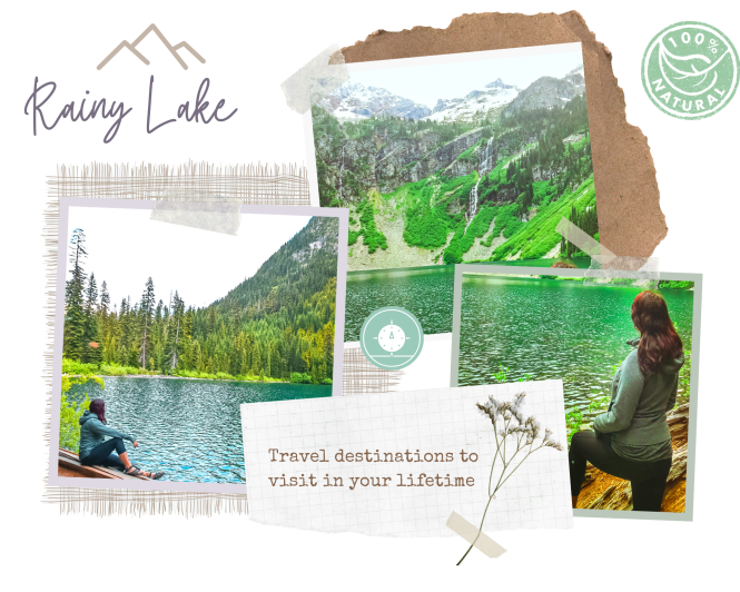Top 10 hikes in North Cascades National Park - Rainy Lake Trail Rainy Lake hiking trail in Ultimate Guide to North Cascades National Park | Weekend Guide | Hiking | Camping | Adventures | Things to do