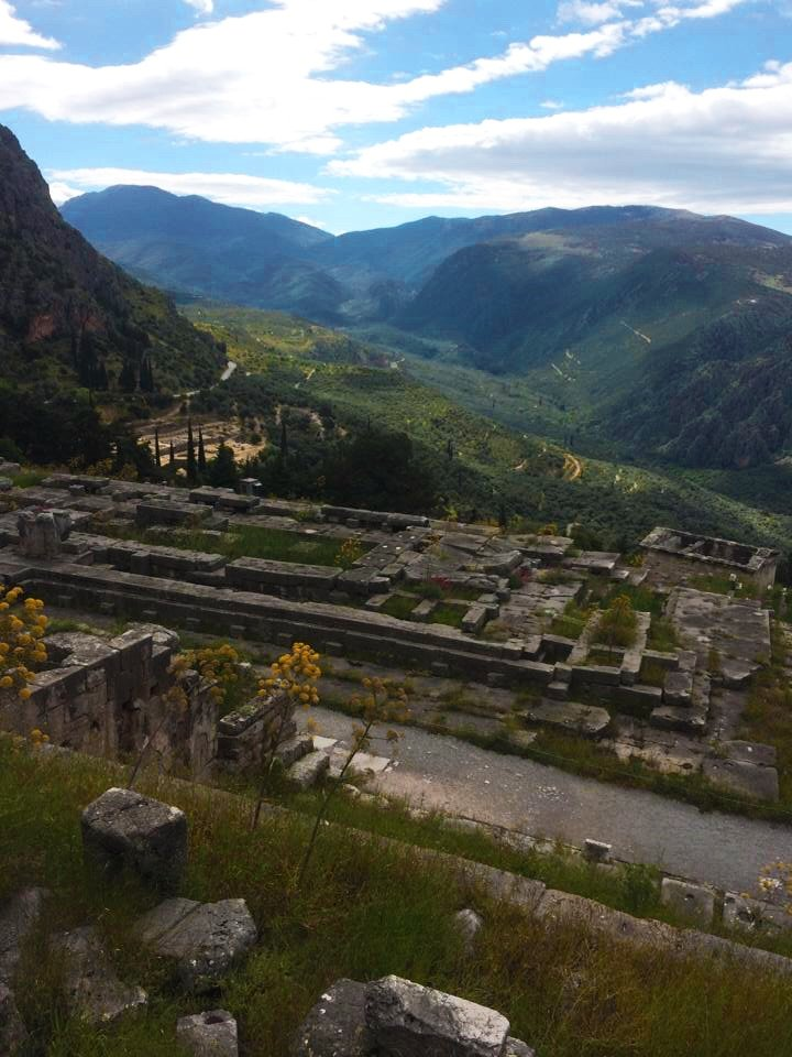 Sanctuary of Delphi, a UNESCO World Heritage Site