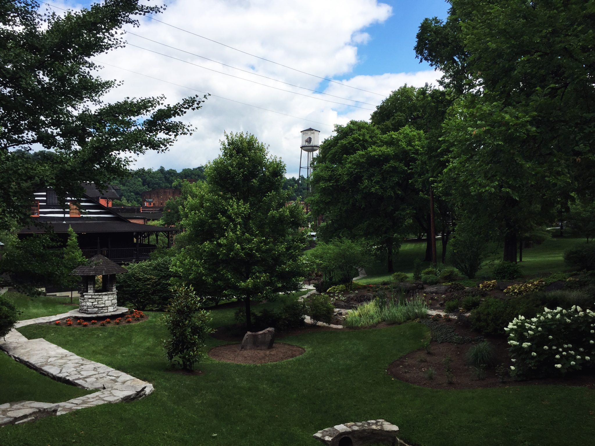 Part of the grounds at Buffalo Trace Distillery