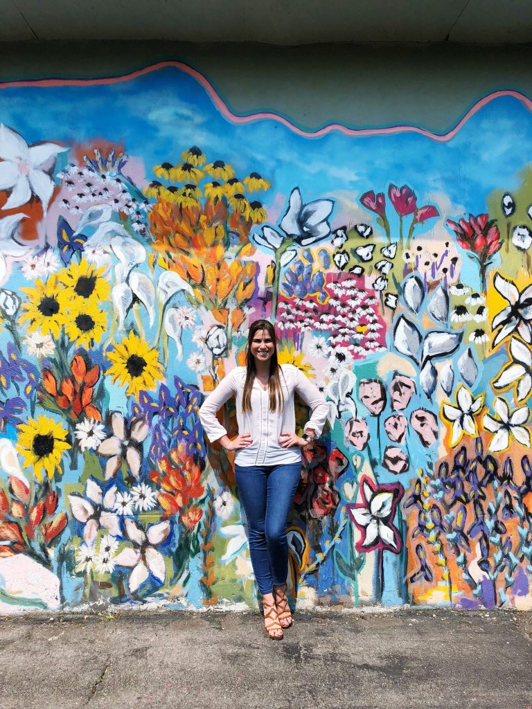 The Flower Mural in 12 South | The Instagrammers Guide to Nashville Murals