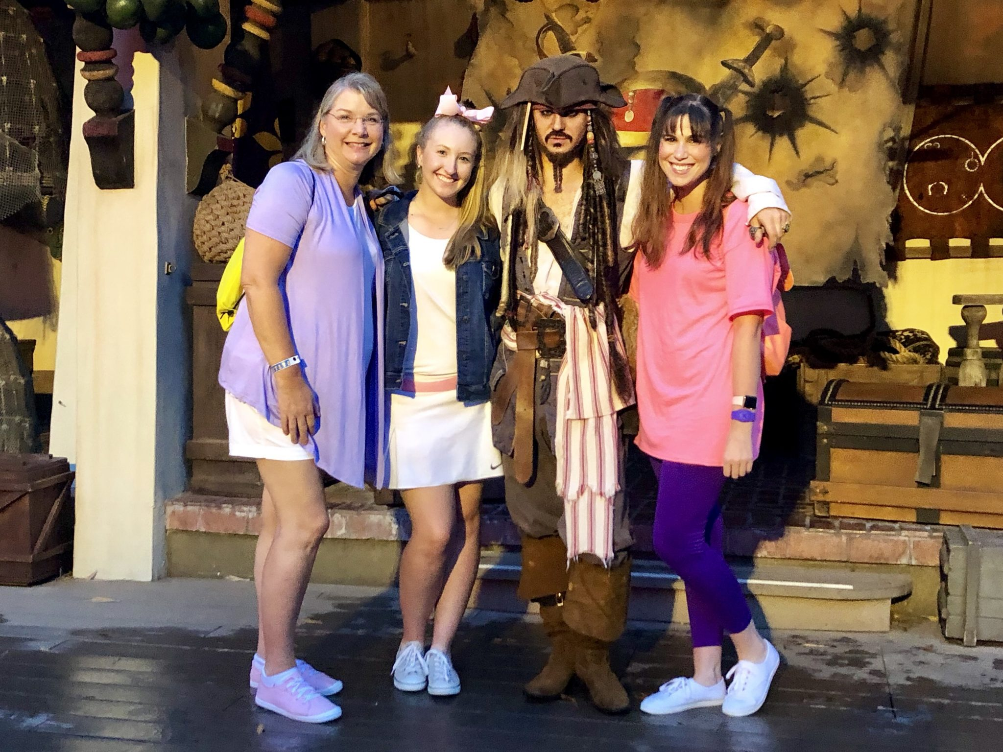 Captain Jack Sparrow | Mickeys Not So Scary: Disneys Spookiest Party | www.herlifeinruins.com