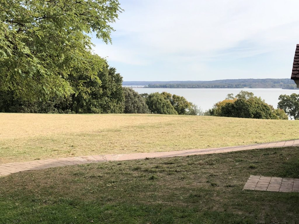 Her Life in Ruins | The view of the Potomac and Maryland from the Mansion at Mount Vernon