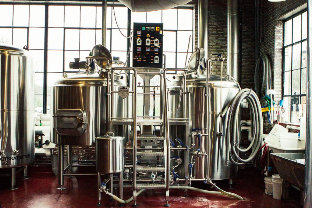 Fermentation Tanks | Dry Ground: Brewing Hops and History