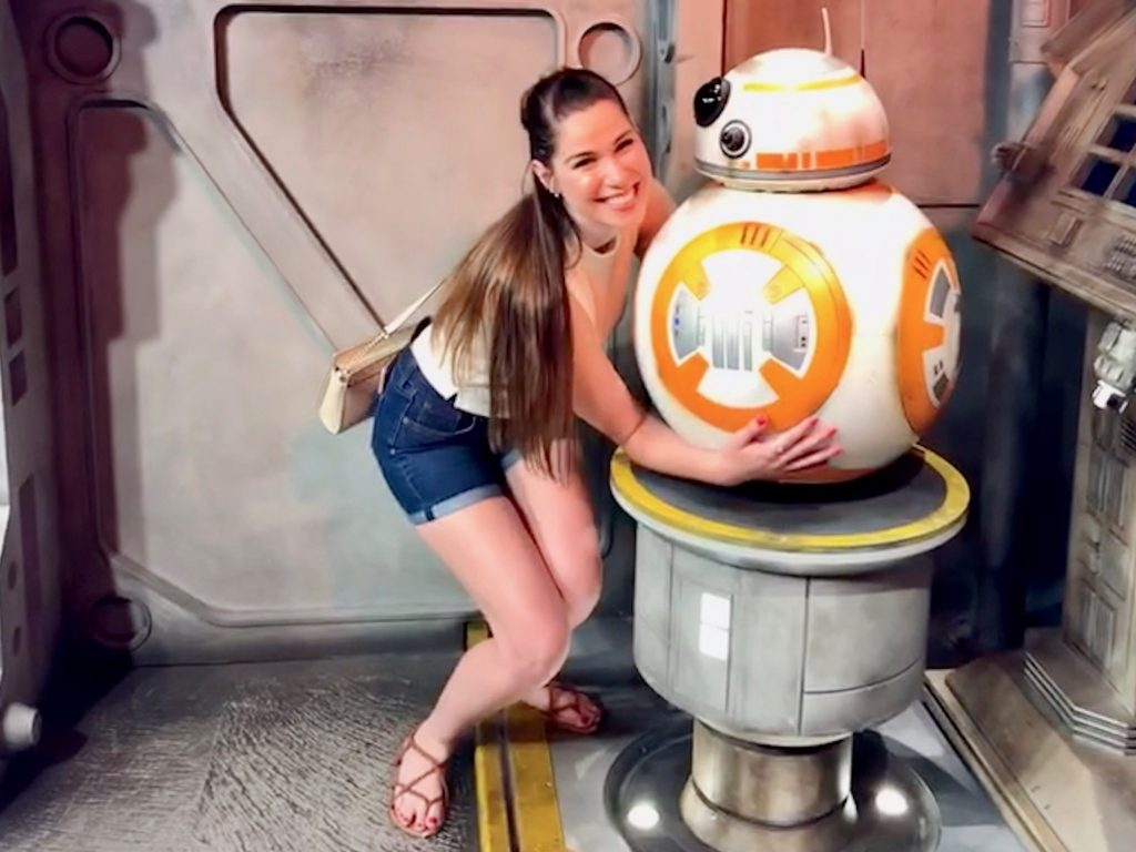 Meeting BB-8 at Disney's Hollywood Studios | 2018: Year in Review