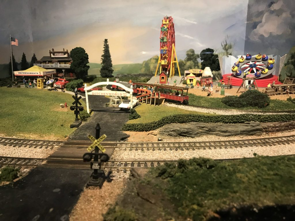 Her Life in Ruins | Model Trains at the Southern Lights Holiday Festival
