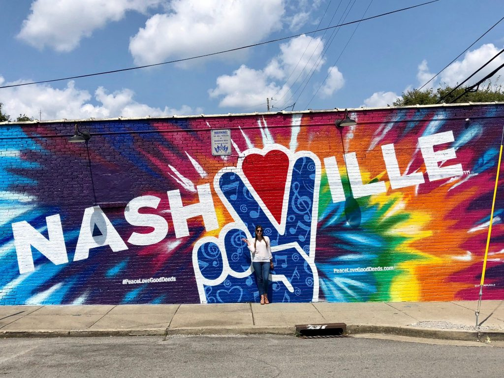 #PeaceLoveGoodDeeds Mural in Nashville | 2018: Year in Review