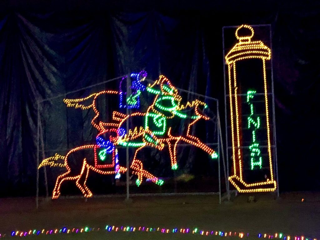 Kentucky Display at Lights Under Louisville | www.herlifeinruins.com