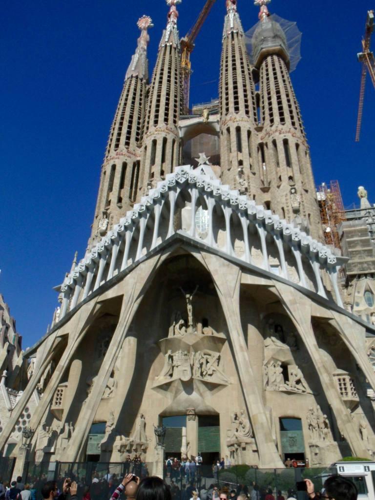 The Passion Facade | The Sagrada Familia