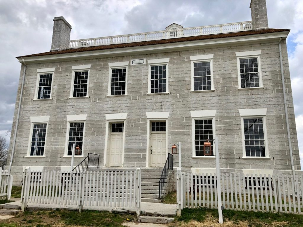 The Centre Family Dwelling at Shaker Village of Pleasant Hill | Her Life in Ruins