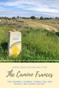 One Step at a Time: My Journey on the Camino Frances | Her Life in Ruins