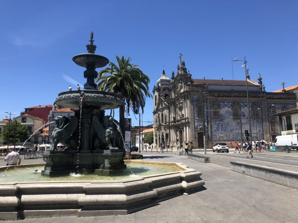 The Fonte dos Leões in Porto | Her Life in Ruins