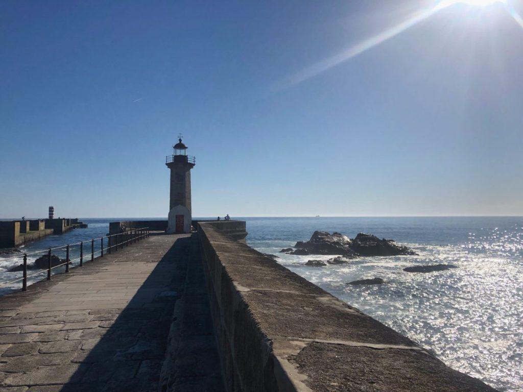 The Foz do Douro Lighthouse near Porto | Her Life in Ruins