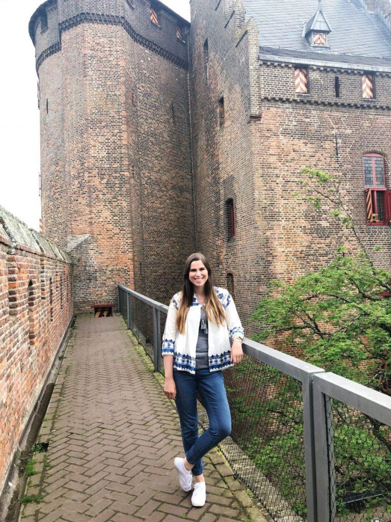 Posing at Muiderslot Castle | Her Life in Ruins