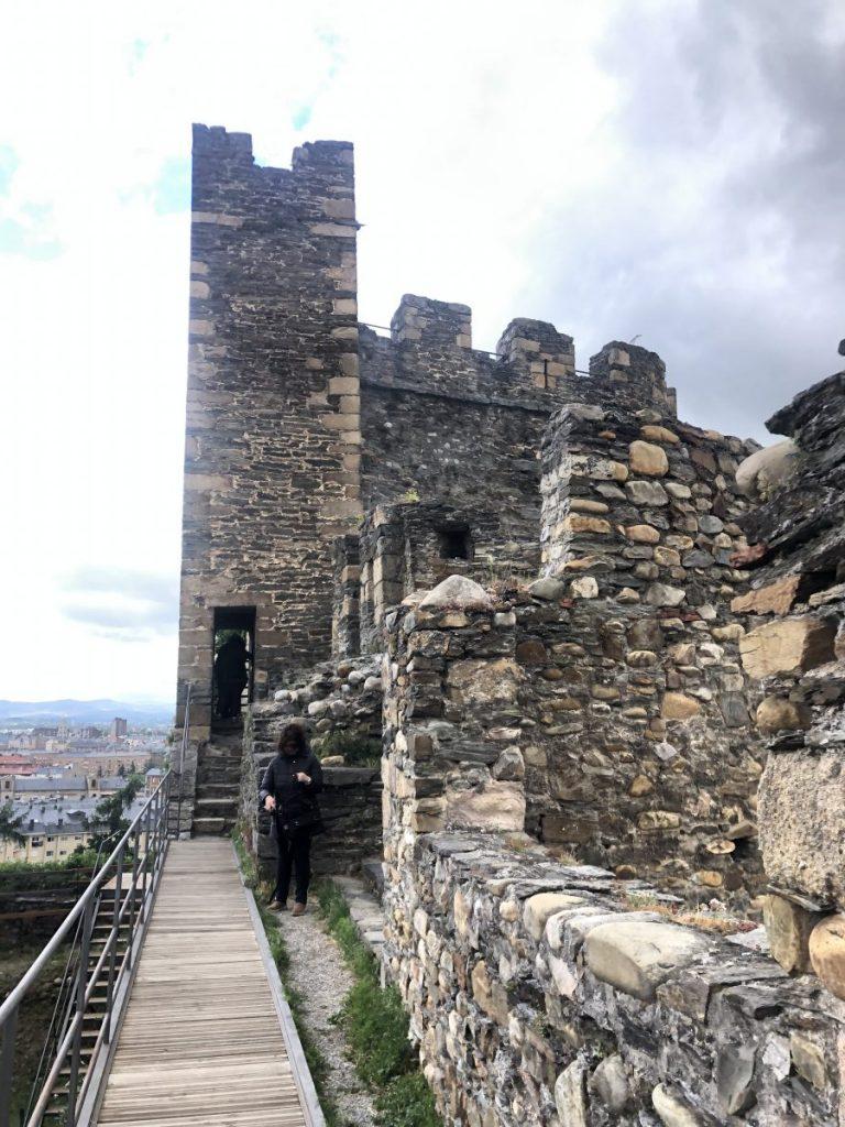 Tower at Castillo de los Templarios | Her Life in Ruins