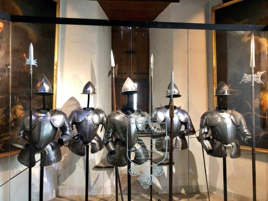 Suits of Armor at Muiderslot Castle | Her Life in Ruins