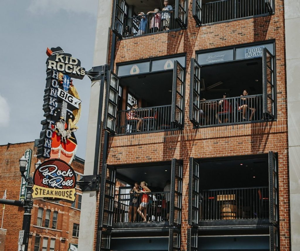 Kid Rock's Big Ass Honky-Tonk Rock'n'Roll Steakhouse | The Ultimate Guide to Nashville's Lower Broadway