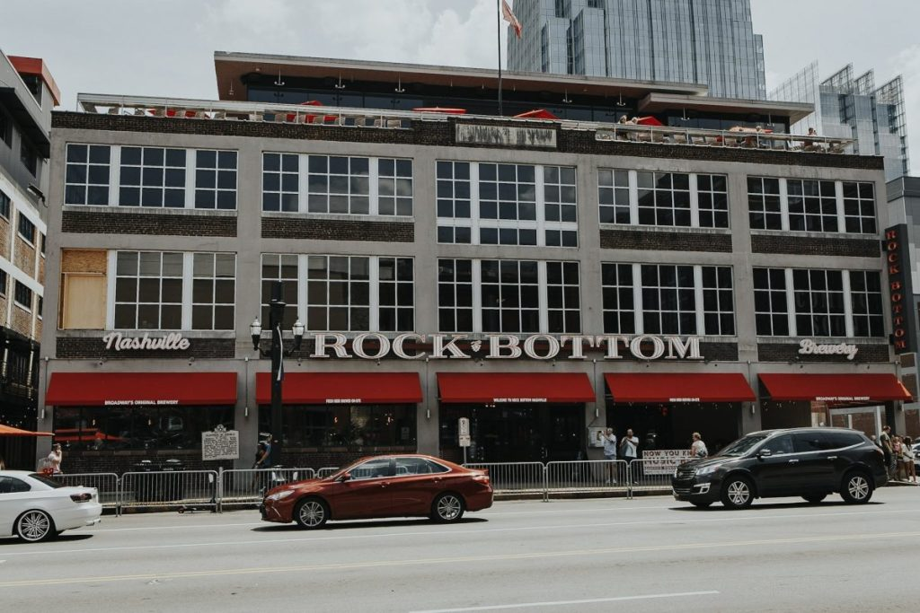 Rock Bottom Brewery | The Ultimate Guide to Nashville's Lower Broadway | Her Life in Ruins