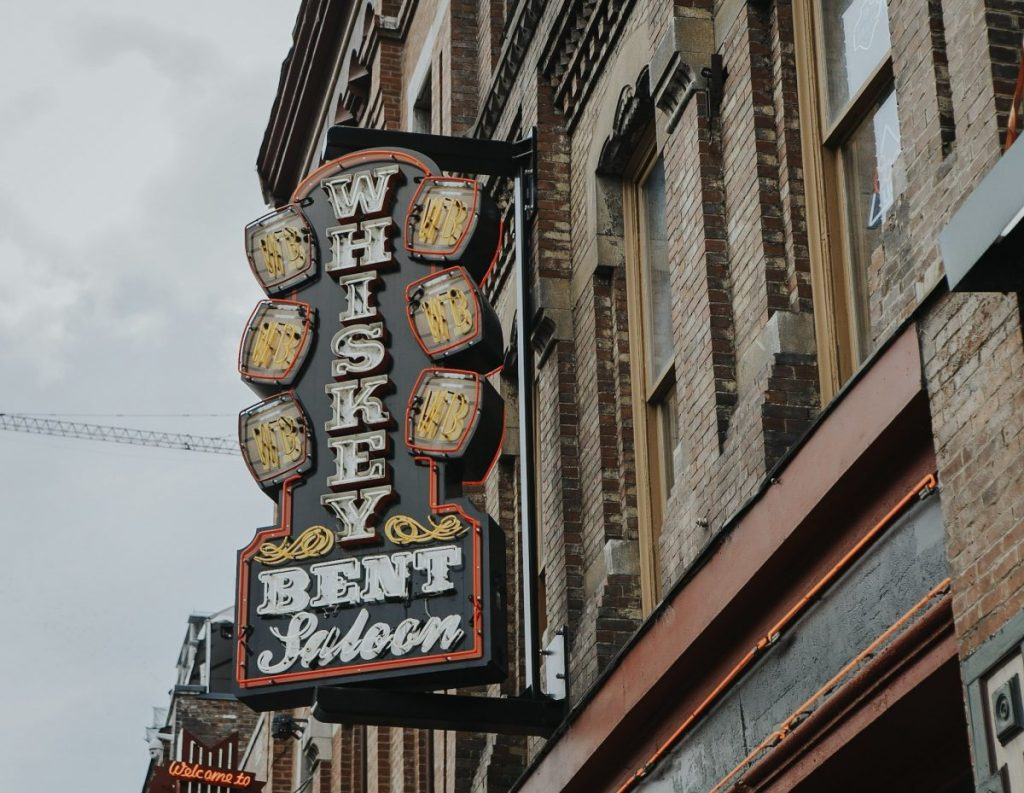 Whiskey Bent Saloon | The Ultimate Guide to Nashville's Lower Broadway | Her Life in Ruins