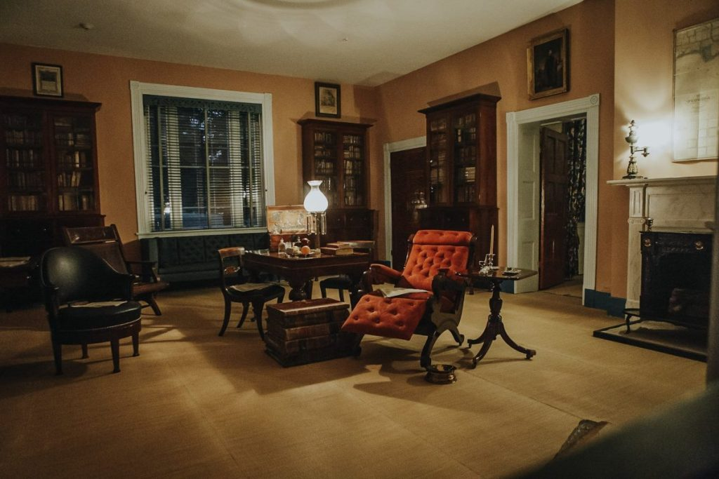 Andrew Jackson's Red Chair at the Hermitage | Her Life in Ruins