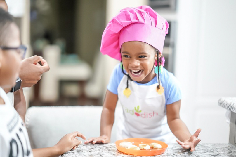 Keep kids entertained by allowing them to be expressive through cooking