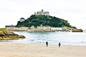 Cornwall pt. 3: Penzance, and a glimpse of St. Michael's Mount