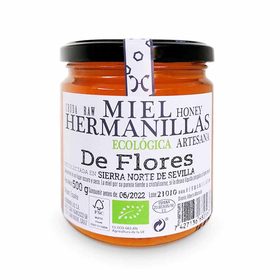 Hermanillas Organic Flower Honey