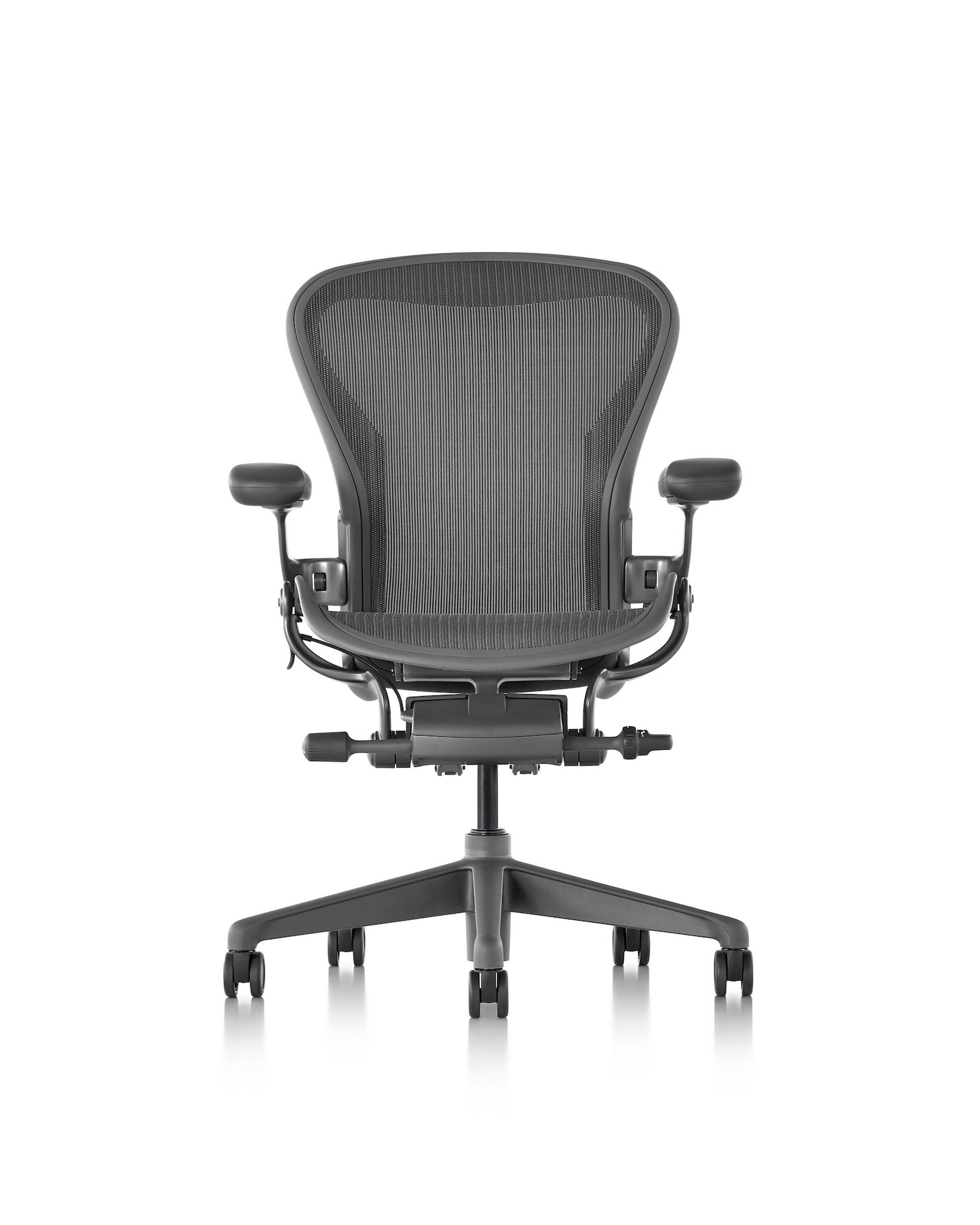 Aero Chair Aeron Chair Carbon Basic Back Support Herman Miller