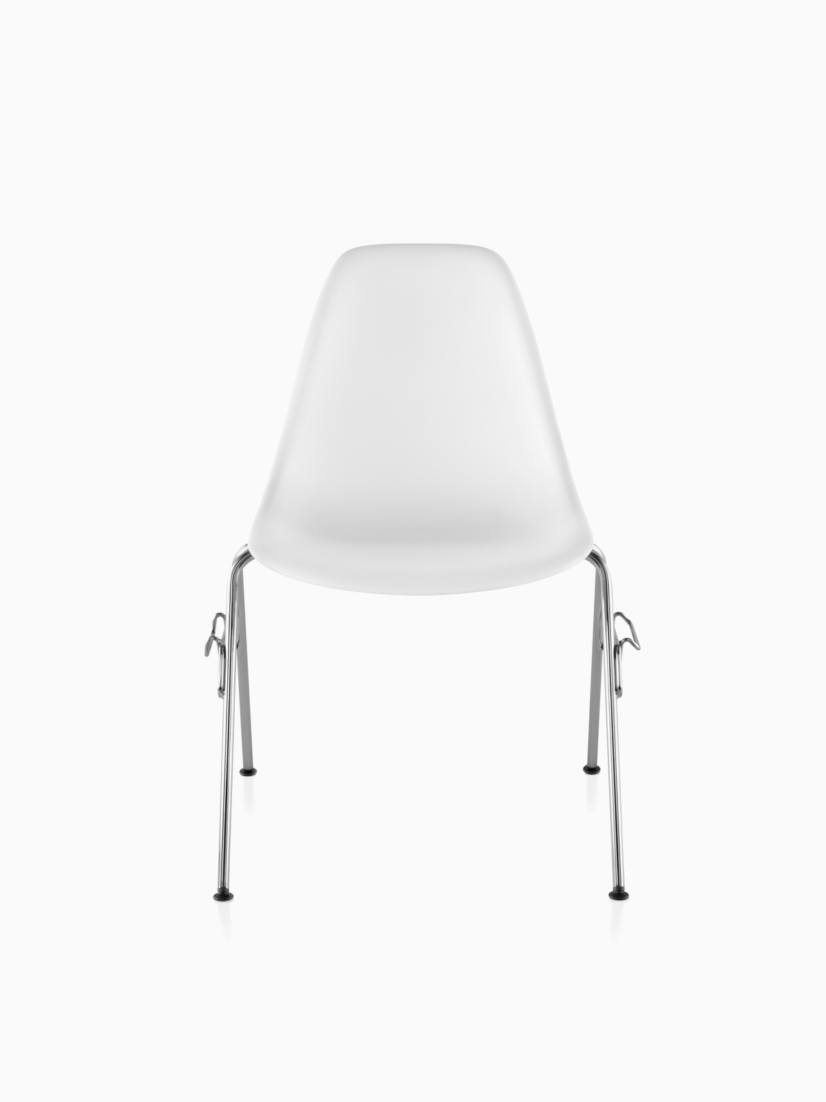 White Stackable Chairs Stacking Chairs Herman Miller