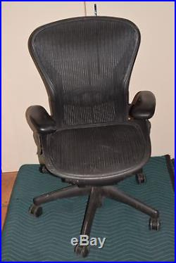 herman miller chair repair kids personalized aeron adjustable black medium parts ar34