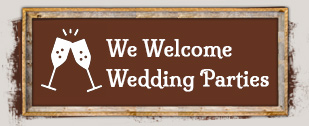 We Welcome Wedding Party