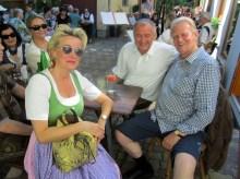 Mit Bürgermeister Hans Stefan Hintner