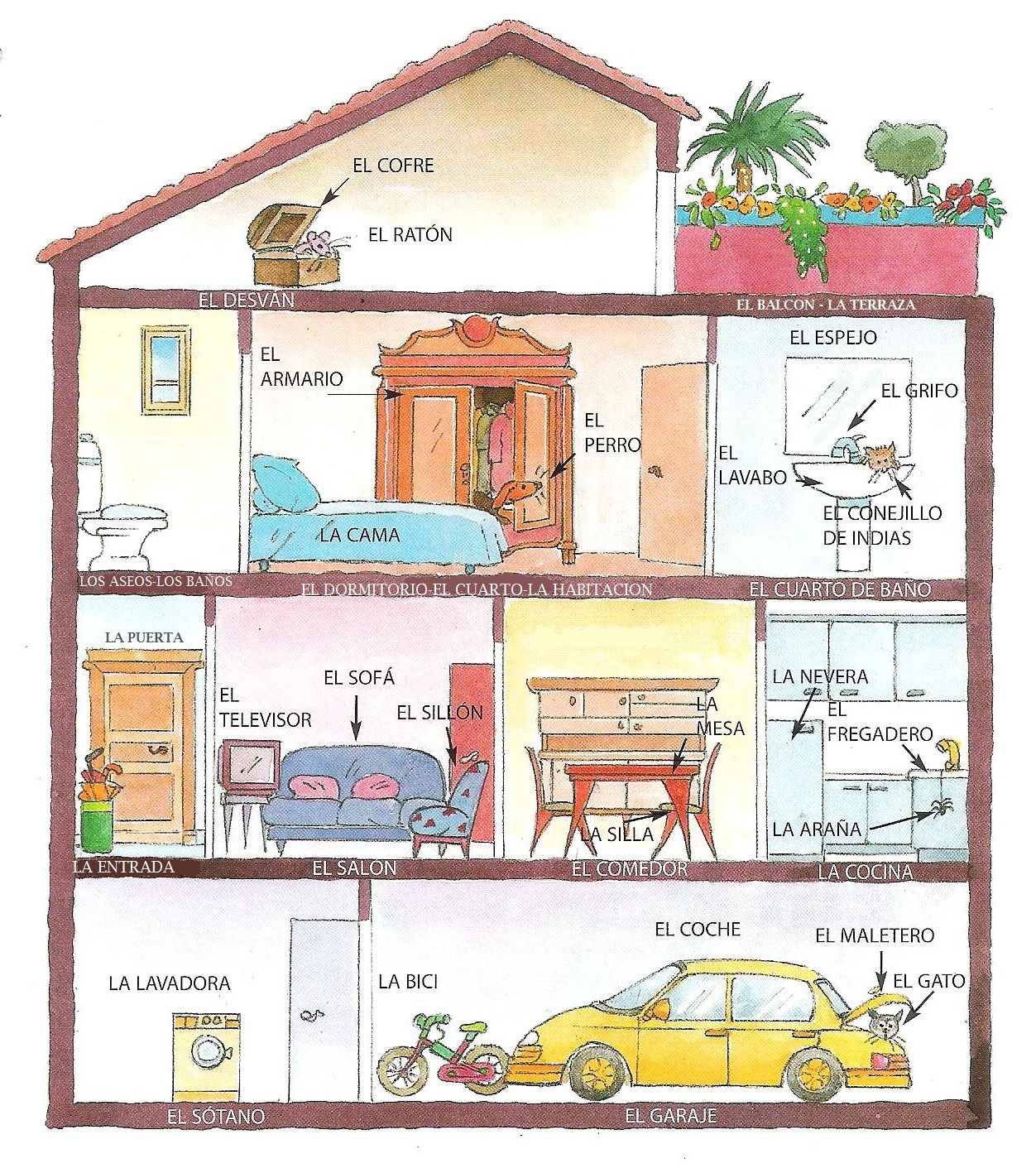 Images About La Casa Unidad 5