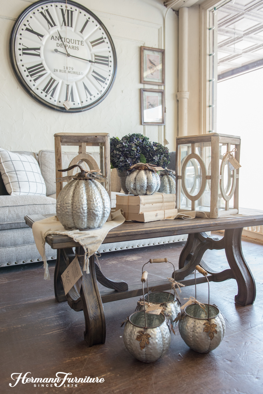 Fall Living Room Inspiration Hermann Furniture