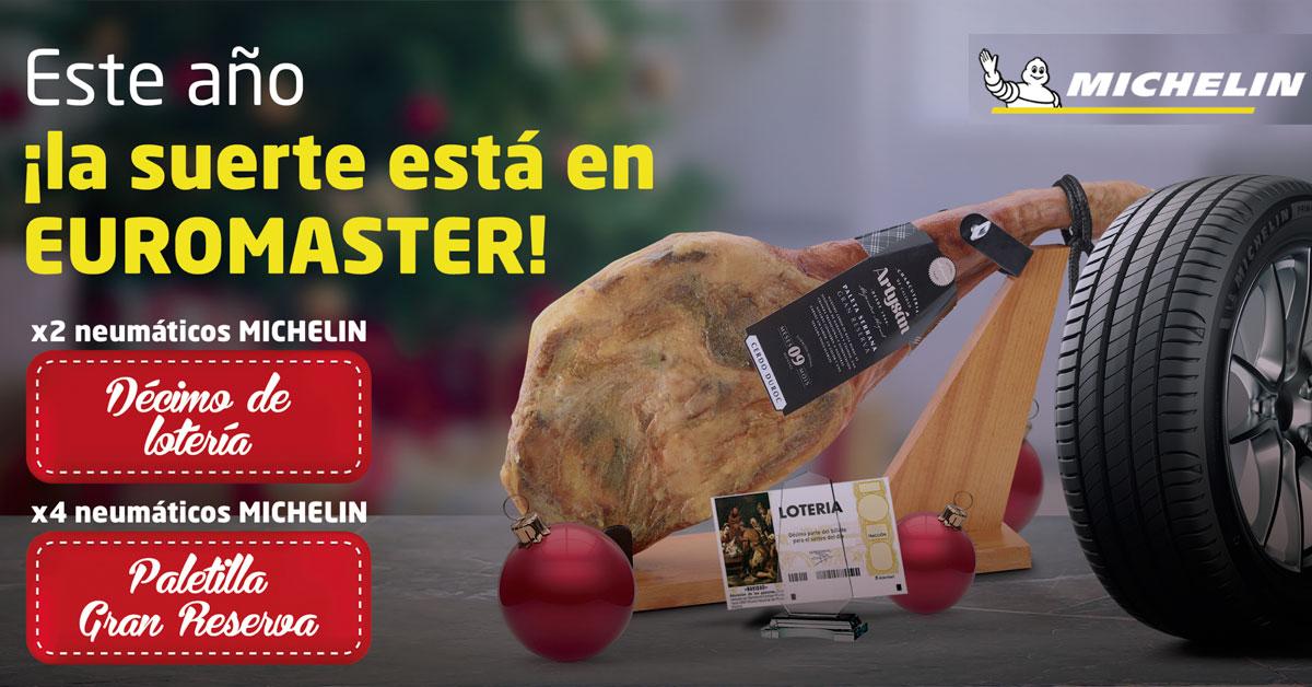 Promoción Euromaster navidad 2018
