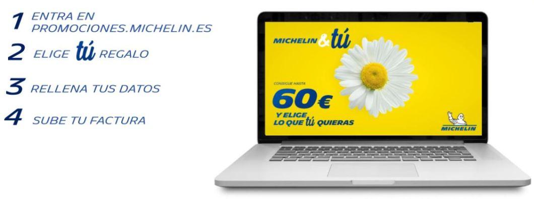 Cómo participar promoción neumáticos Michelin