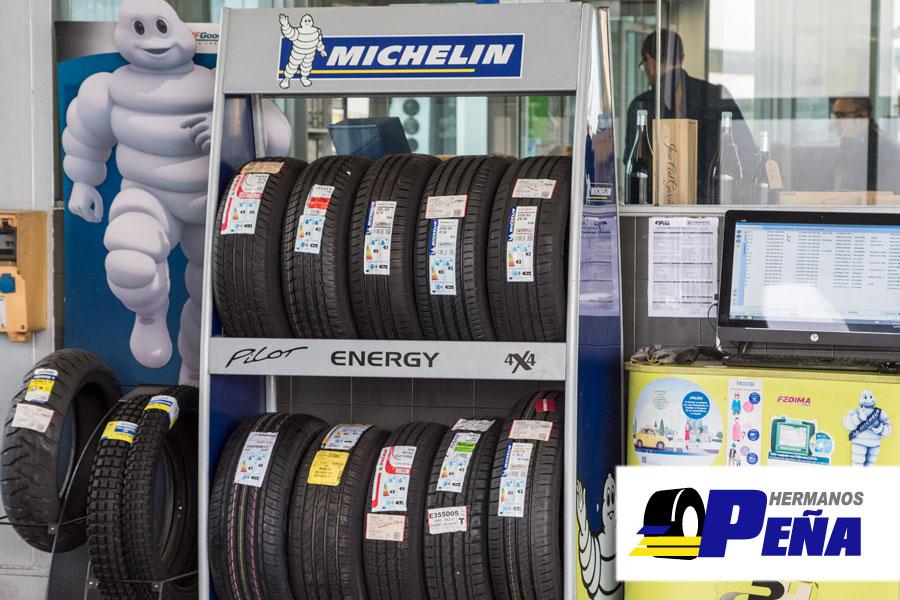 Neumáticos Michelin para turismos