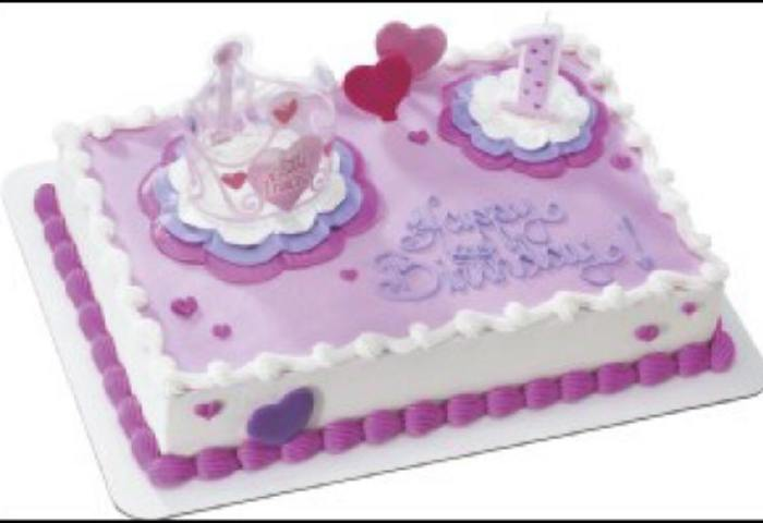 Birthday Cake For Baby Girl Princess All About Costumes