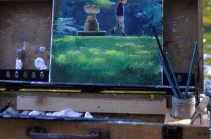 plein air paintbox