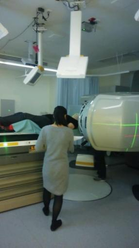 1st Radiation Therapy