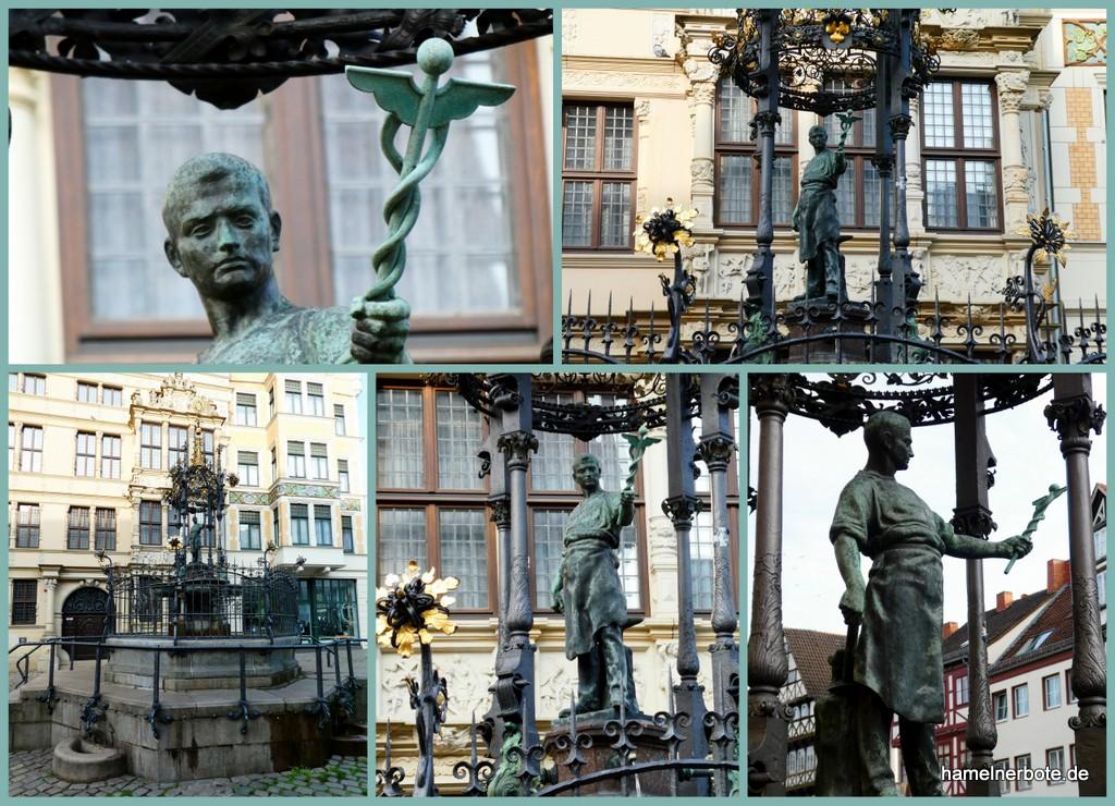Der Hermesstab-Schmied (Holzmarktbrunnen) Hannover